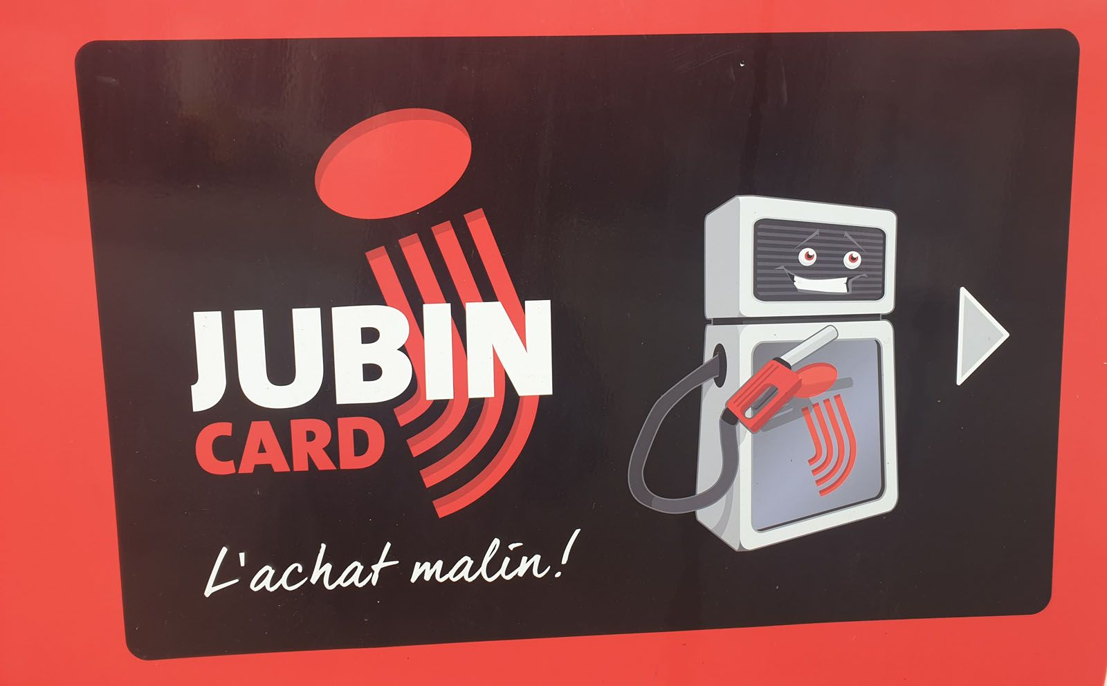 Jubin card - Le Virage
